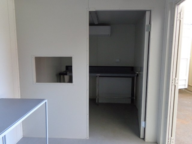 20GP Kitchen Office Modified Shipping Container Partition