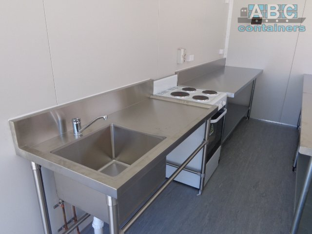 shipping container with kitchenette seafood_processing_area_-_stainless_steel_