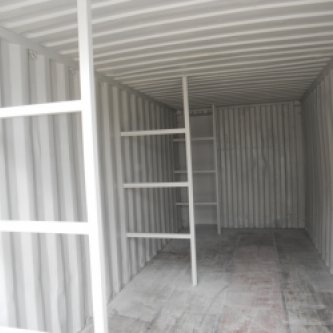 Heavy duty racking used for plumbing supplies