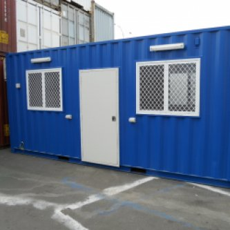 20' Portable Lunch Room Exterior