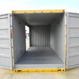 2PWHC Dangerous Goods with all doors open allowing easy access