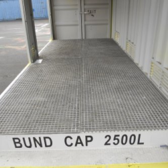 2500L Bund Capacity