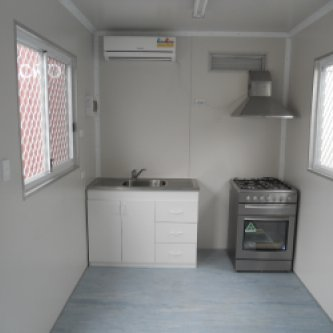 20' Portable Lunch Room Interior
