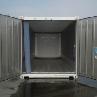20ft refrigerated container front view