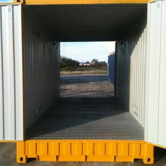 20' Dangerous Goods Container - Inside