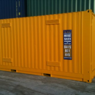 20' Dangerous Goods Container - Exterior