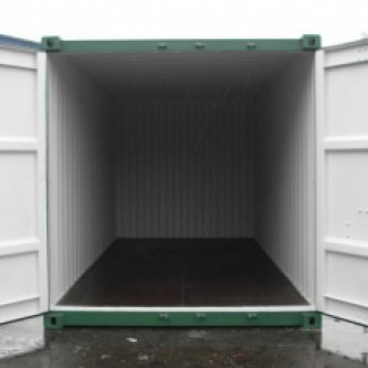 20 ft General Purpose Container -  White Interior