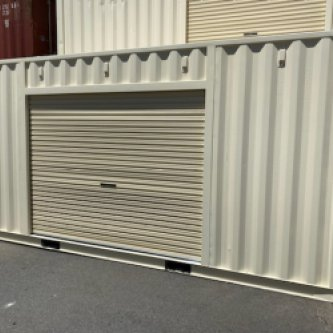 20' ft General Purpose Container Side 1