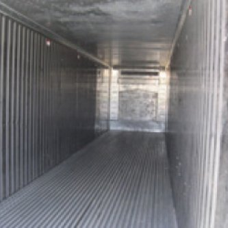 Internal view of 40' Reefer