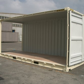 Edit Container Product New 20ft Open Side High Cube Container all doors open