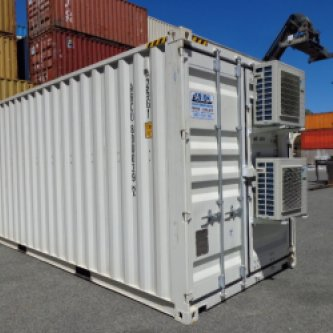 20' HC Computer Server Converted Shipping Container