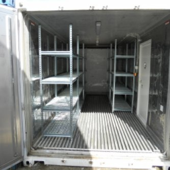 20'RFR with food grade shelving