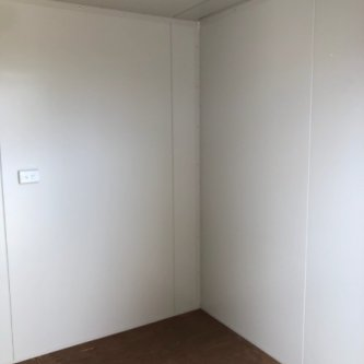 10ft modified office container inside with aircon