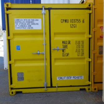 Brand new 10' Dangerous Goods Storage