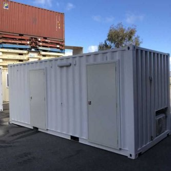 20ft Modified Sea Container Exterior