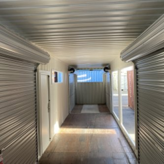 modified 40ft shipping container