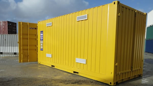 20ft Pallet Wide High Cube Dangerous Goods Container With