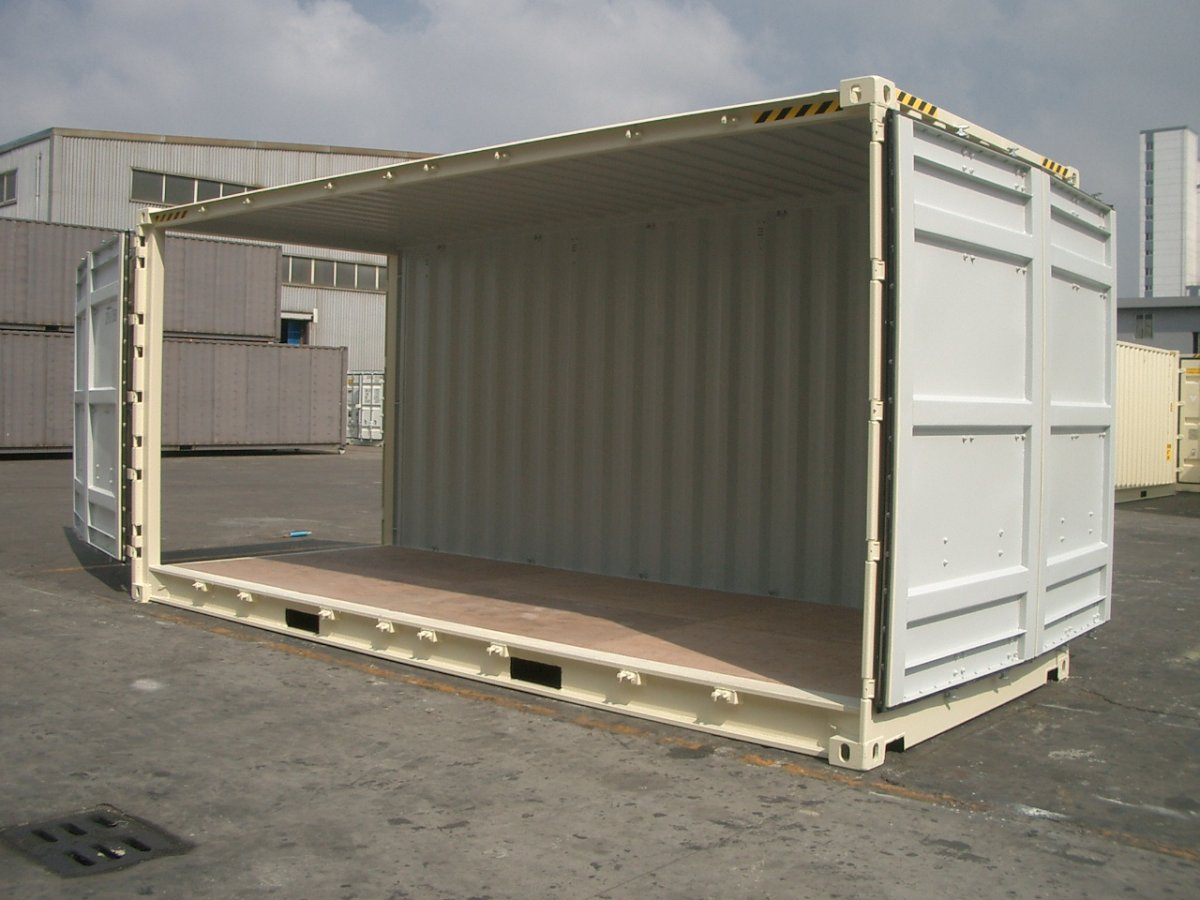 New 20ft Open Side High Cube Container Abc Containers Perth
