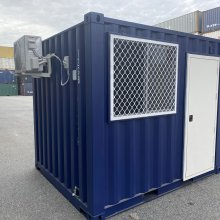 10' FT GP C Container external side view
