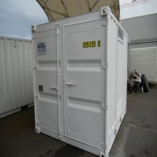 10 foot insulated dangerous goods container - front cargo doors