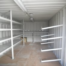 View of 4 tier Shelving & Racks