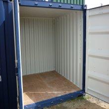 10 Foot Container, Doors open