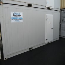 20ft RFR Freezer Chiller external view