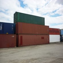 Stack of 40' Containers